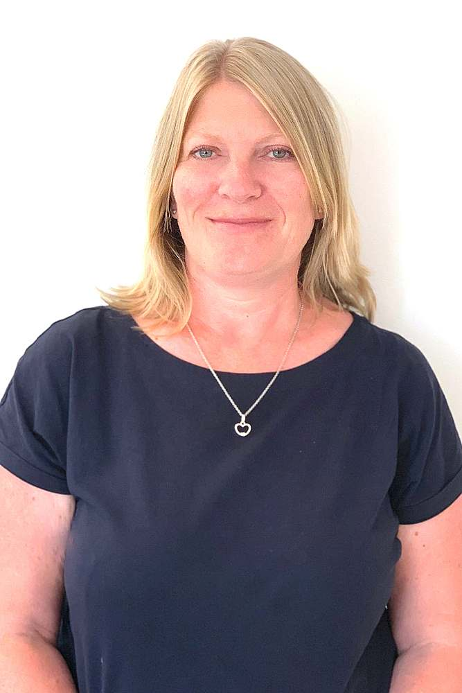 Receptionist Alison Jenner